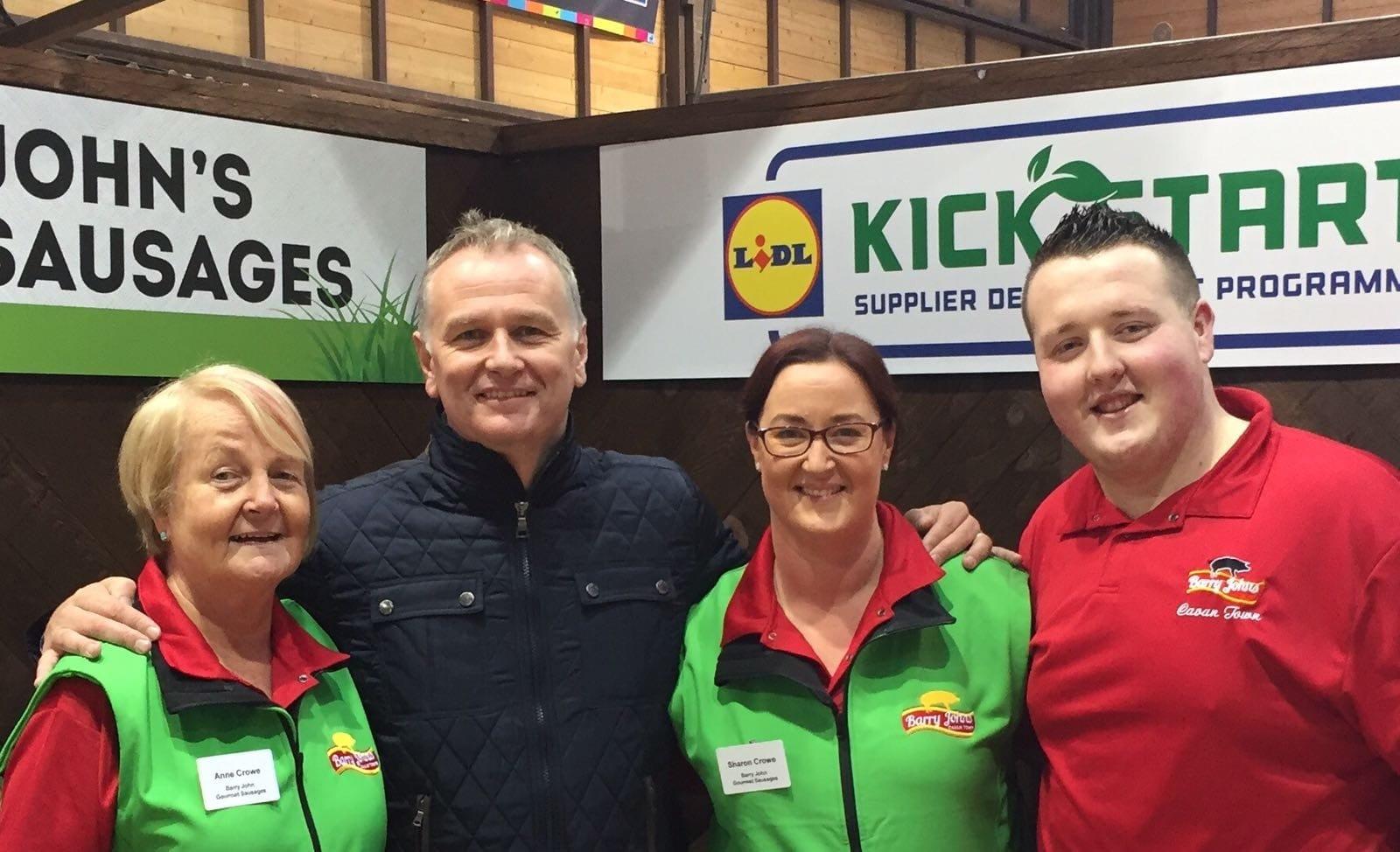 Lidl Kickstart Irish Producers - National Ploughing Championships - Barry John Sausages - Gourmet Sausages