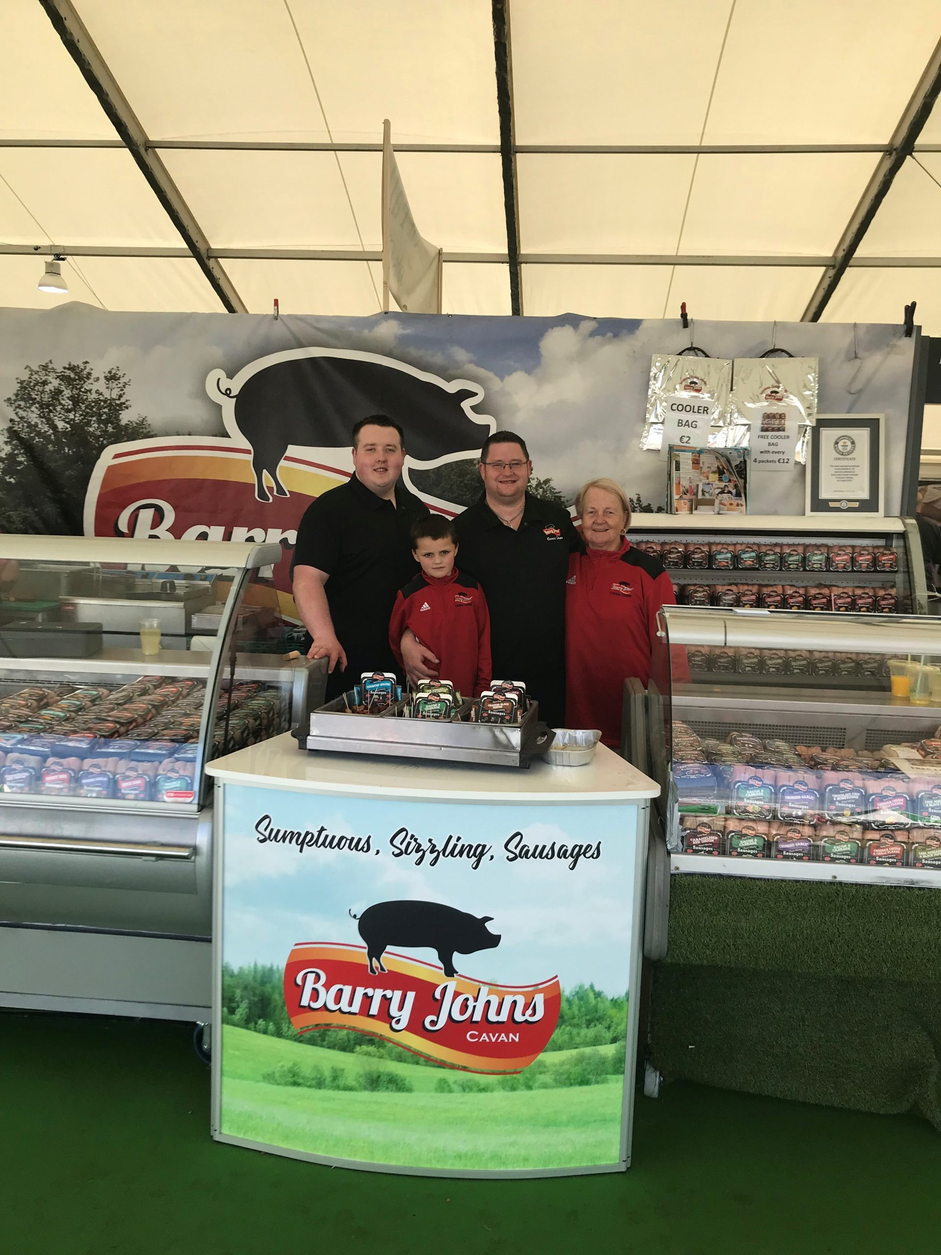 Bord Bia Bloom - Barry John Sausages Stand