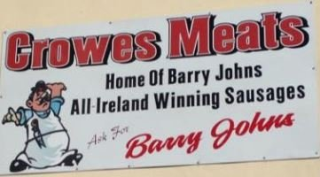 Crowes Butchers - Home of Barry John Sausages